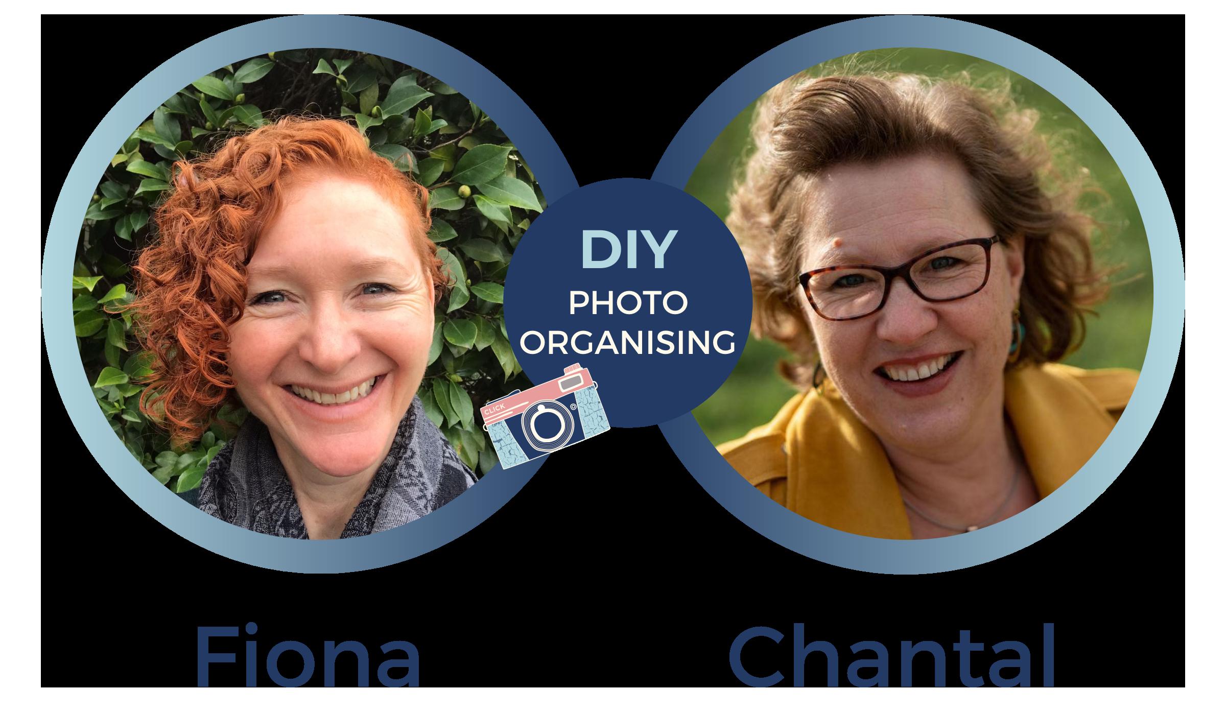 Fiona and Chantal DIY Photo Organising